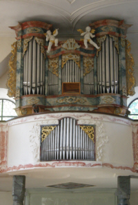 Orgel in Betenbrunn